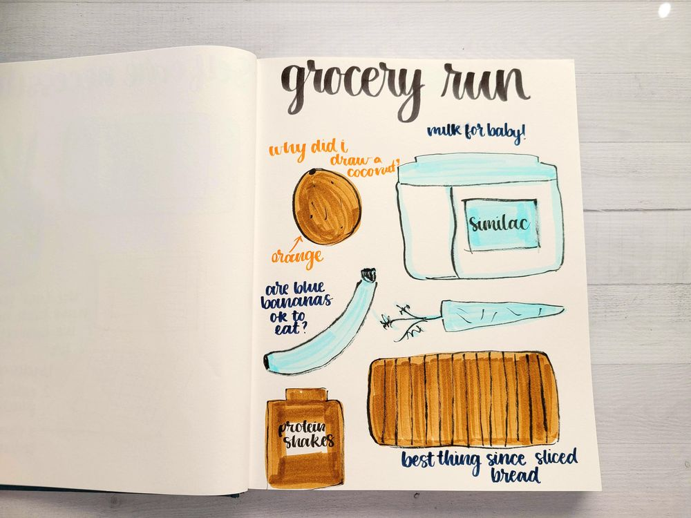 Illustrative Journaling-14 days - image 10 - student project