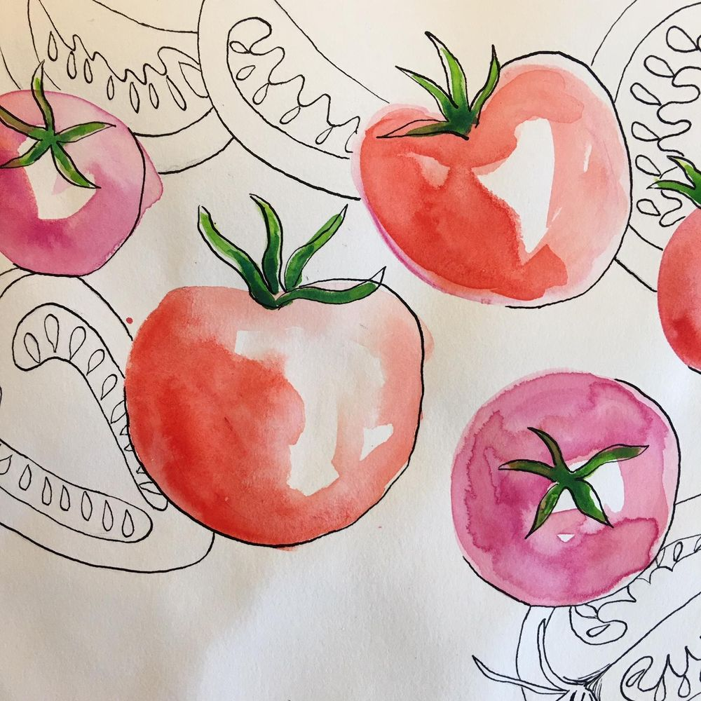 Tomatoes - image 1 - student project