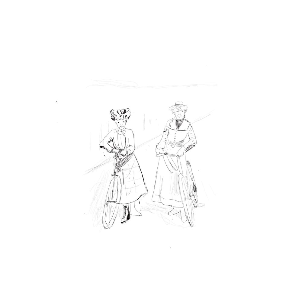 100 days of sketching historical costumes - image 3 - student project