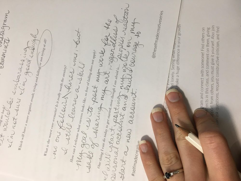 Sample Project: I want to be a Calligrapher! - image 2 - student project