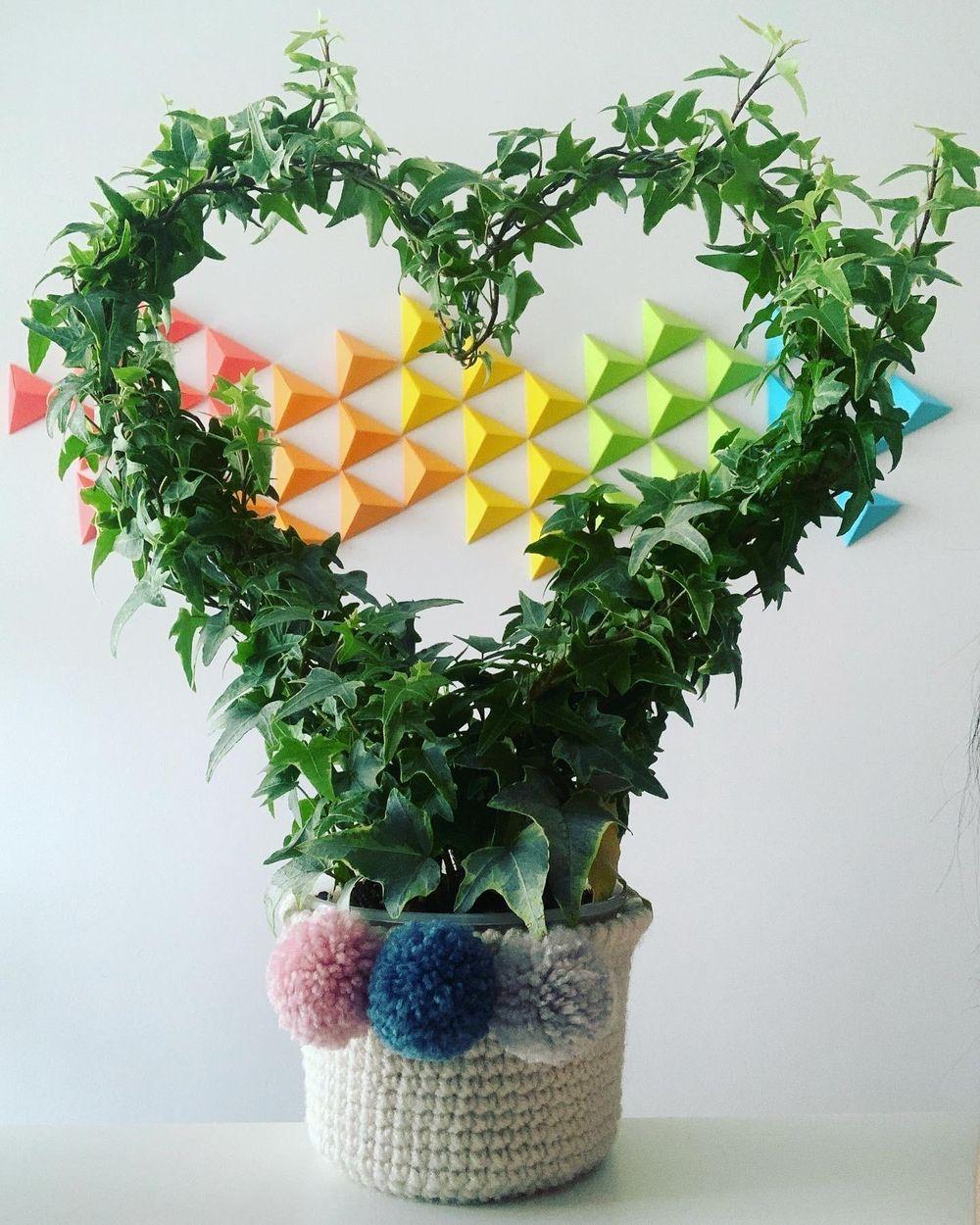 Crochet a plant pot - image 1 - student project