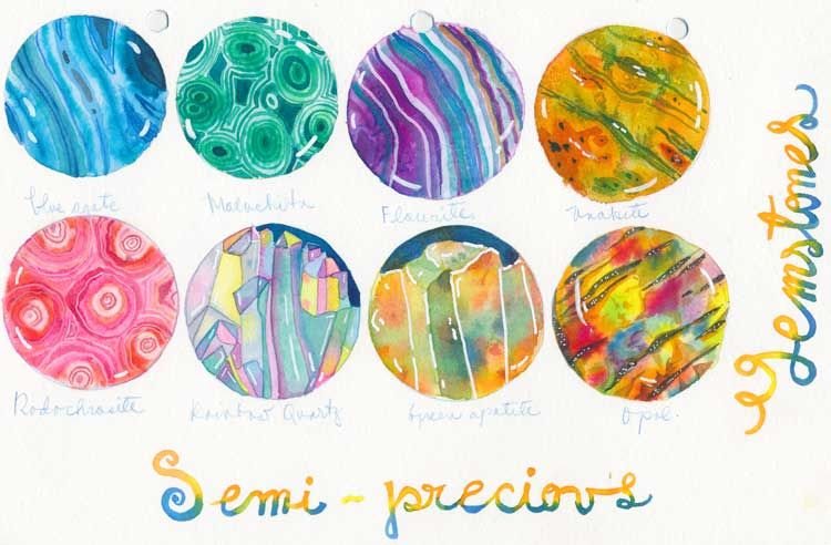 Watercolour textures. - image 5 - student project