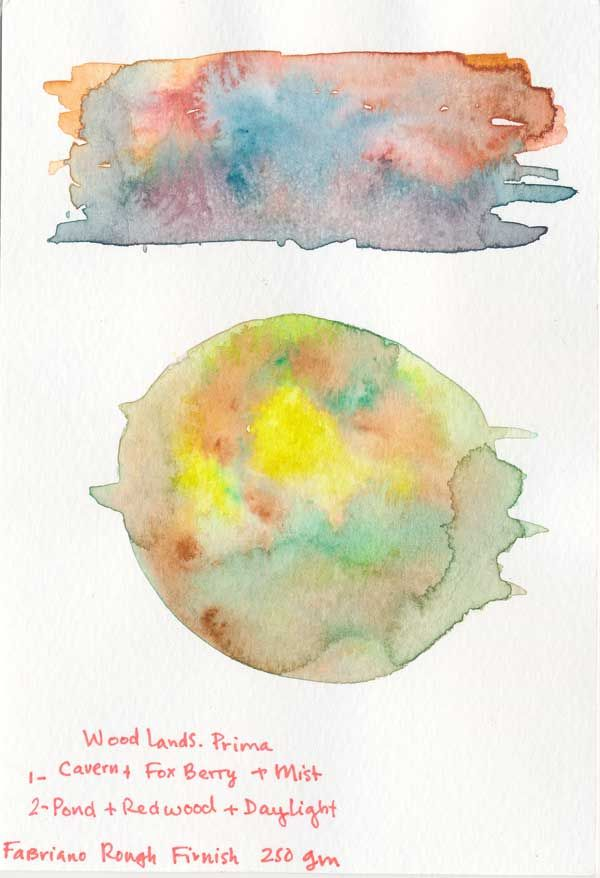 Watercolour textures. - image 2 - student project