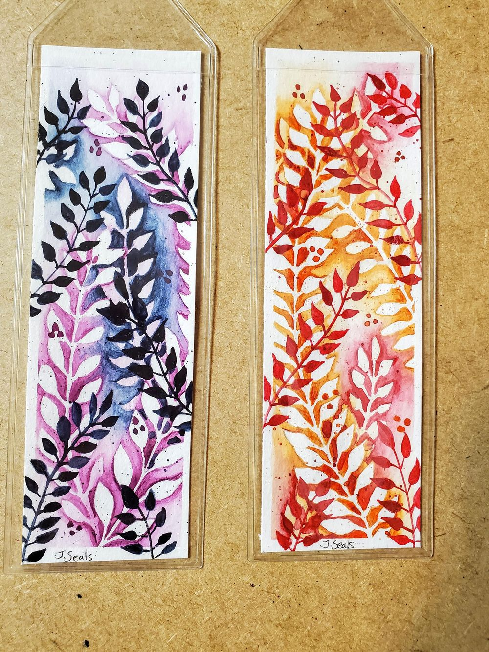Bookmarks the negative way! - image 1 - student project