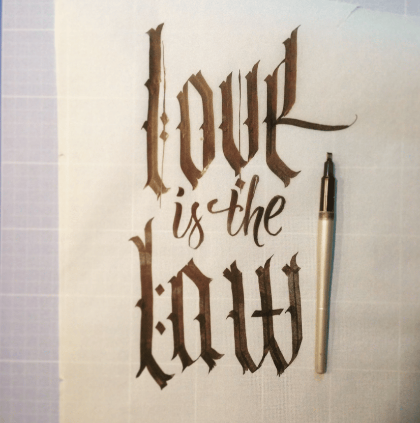 Love is the law - image 5 - student project