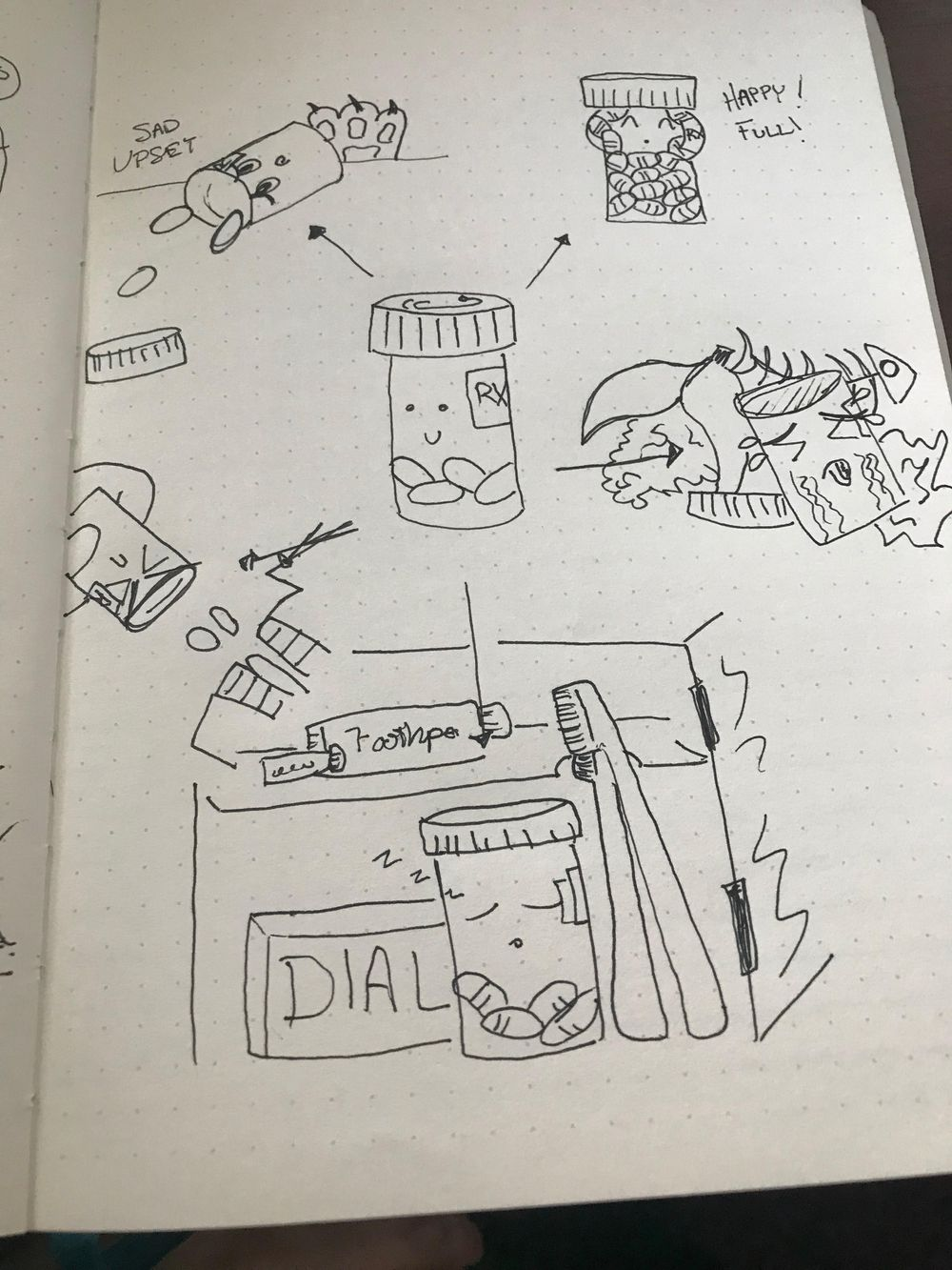 The Art of Doodling: Wilson Style - image 4 - student project