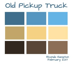 Old Pickup Truck - Colors, tints and shades - image 1 - student project