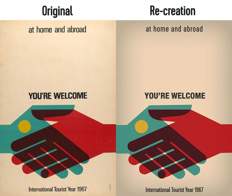 Retro Poster Re-Creation - image 1 - student project