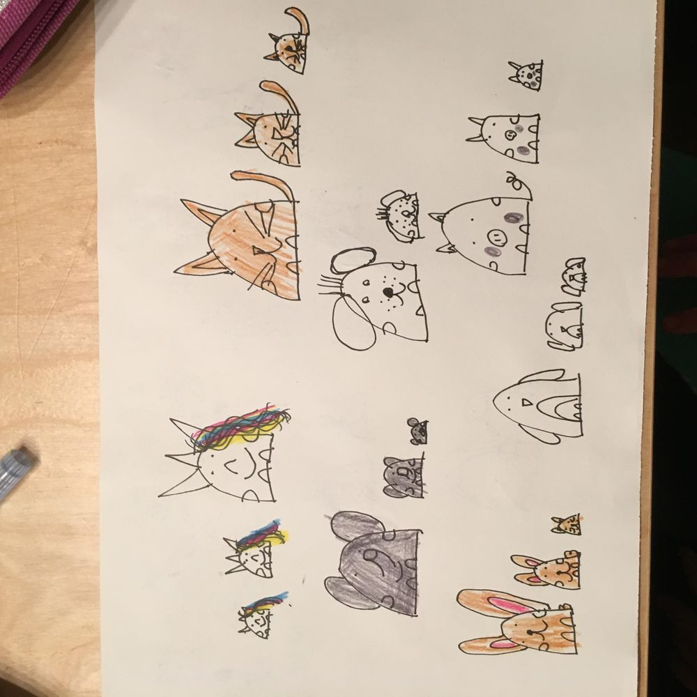 Fun activity with my 7 year old daughter  - image 4 - student project