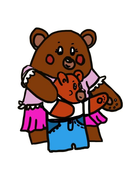 Sweet little bears - image 1 - student project