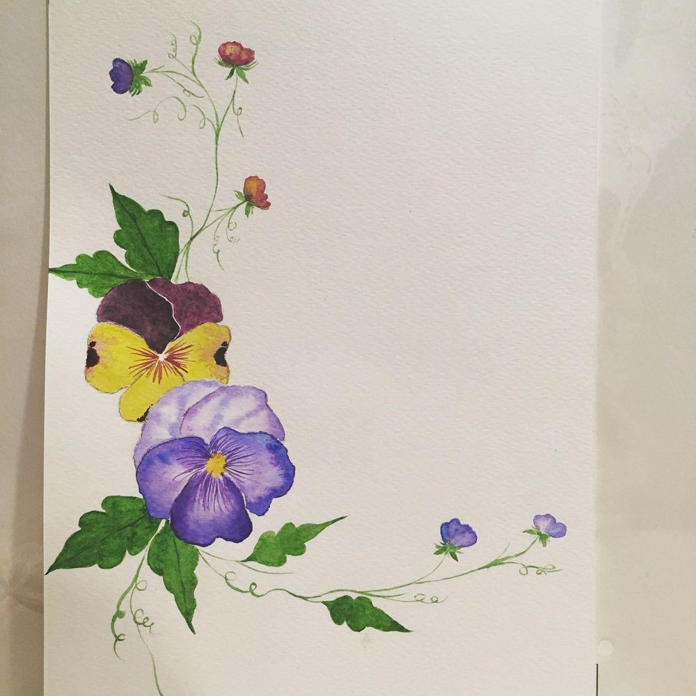 Pansies - image 1 - student project