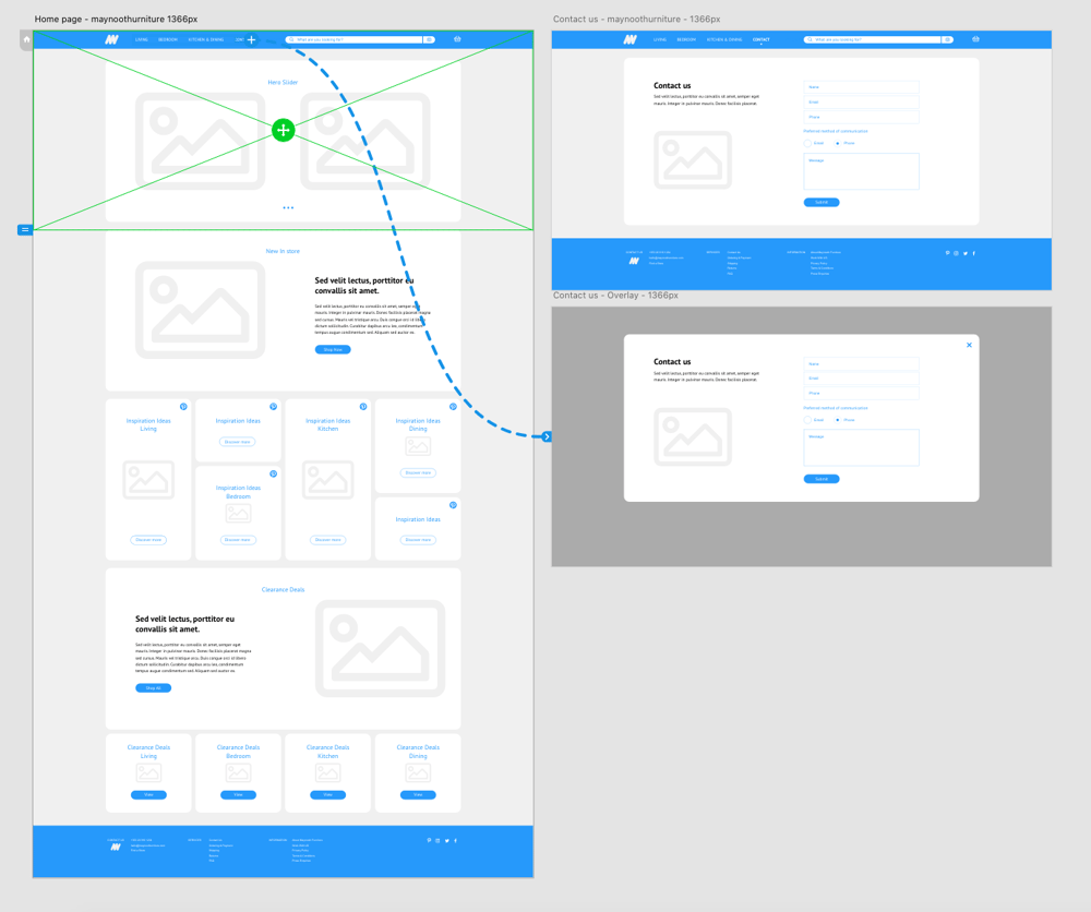 Class Project 01 – Wireframe Homepage & Contact Us Page - image 3 - student project
