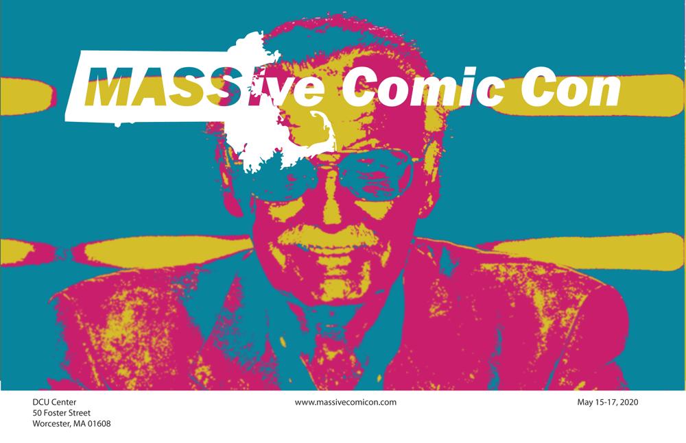 MASSive Comic Con Poster - image 3 - student project