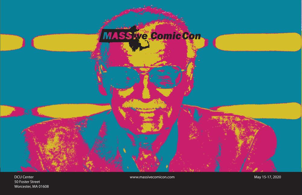 MASSive Comic Con Poster - image 4 - student project