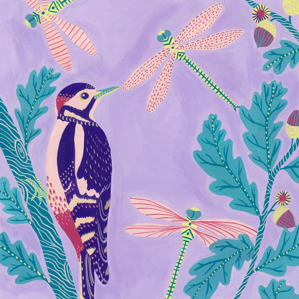 My mini bird series inspired by this class! - image 7 - student project