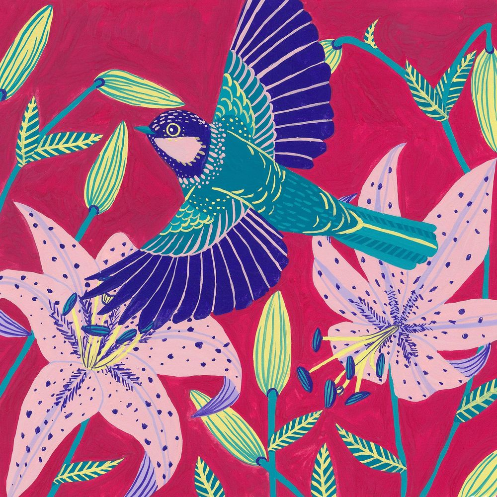 My mini bird series inspired by this class! - image 5 - student project