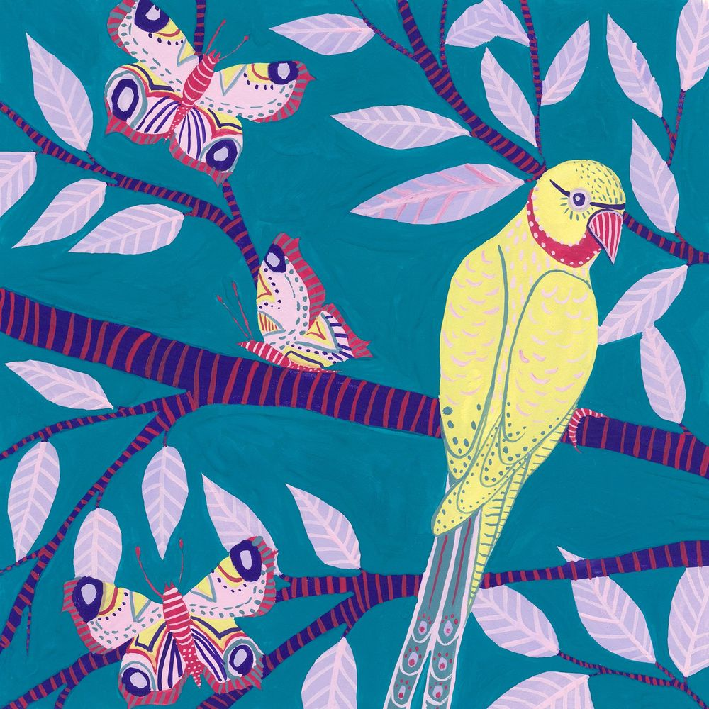 My mini bird series inspired by this class! - image 6 - student project