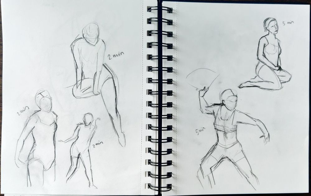 Timed drawing excercise - image 1 - student project