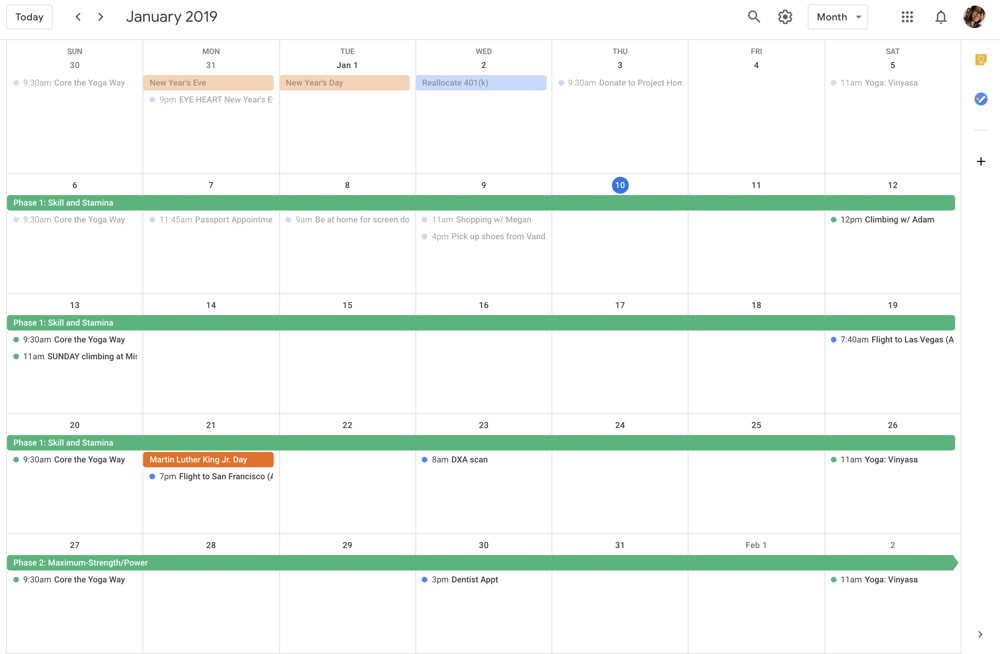 A system that works for me, a rock-climbing/techy/productivity nerd - image 5 - student project
