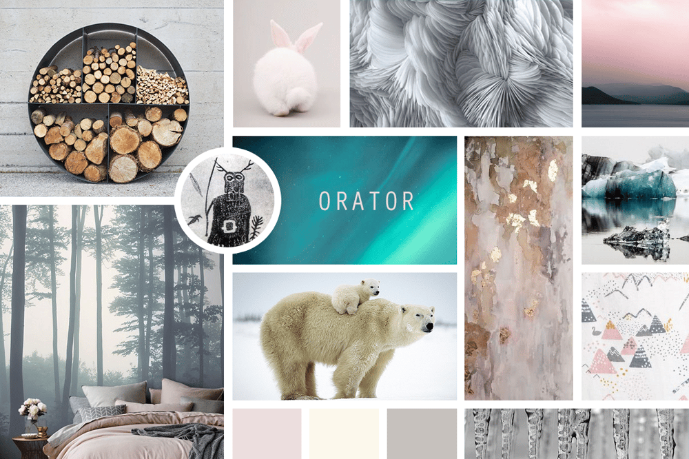 Mood Board - Fortitude - image 1 - student project