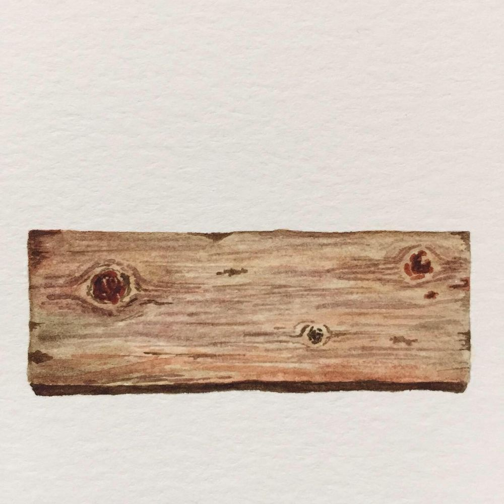 Watercolour Wood - image 3 - student project