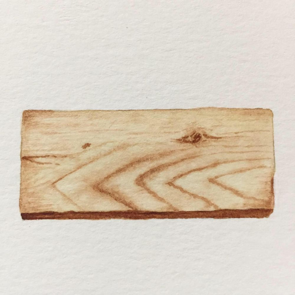 Watercolour Wood - image 4 - student project