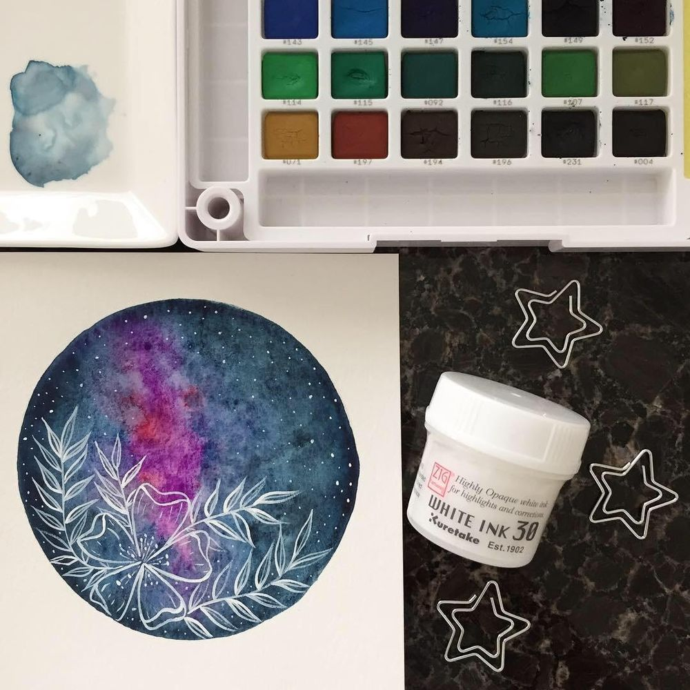 Floral Galaxy - image 1 - student project