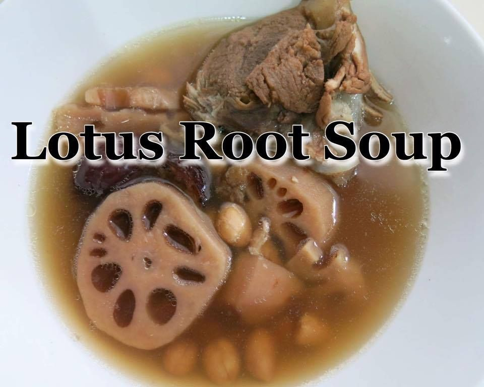 Easy Healthy Nourishing Lotus Root Soup - image 1 - student project