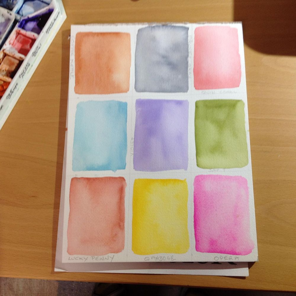 Watercolor textures with Ana - image 1 - student project