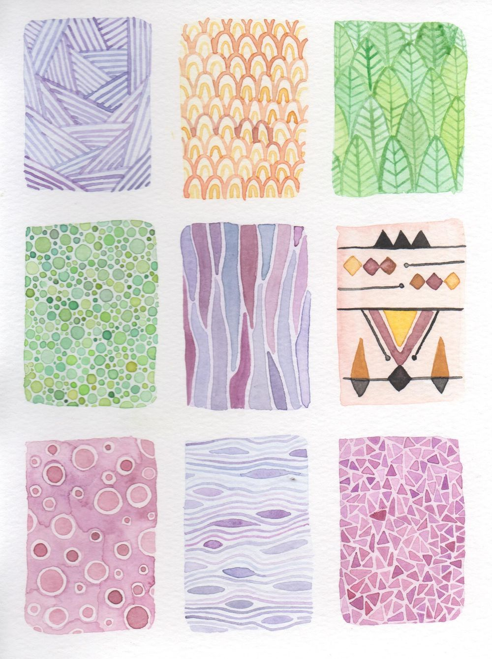 Watercolor textures! - image 1 - student project