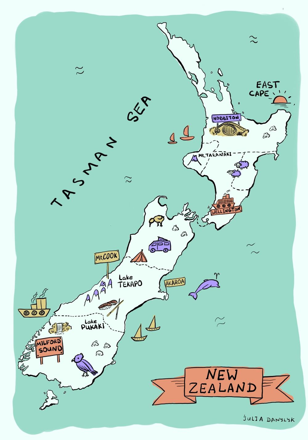 New Zealand - image 1 - student project