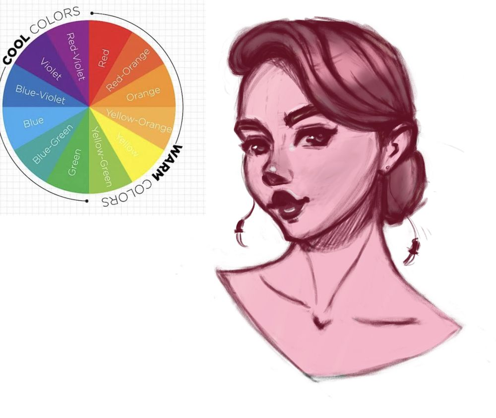 Female character in color - image 5 - student project