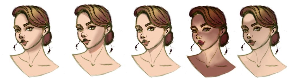 Female character in color - image 6 - student project