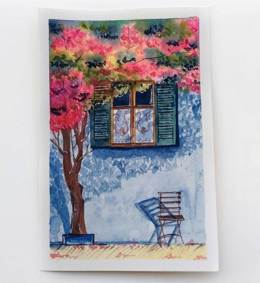 Story of a window, chair and a tree <3 - image 1 - student project