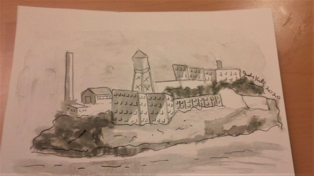 SF Watercolor - image 1 - student project