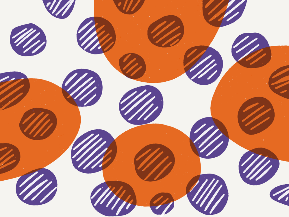 Colourful circles and abstract shapes - image 7 - student project