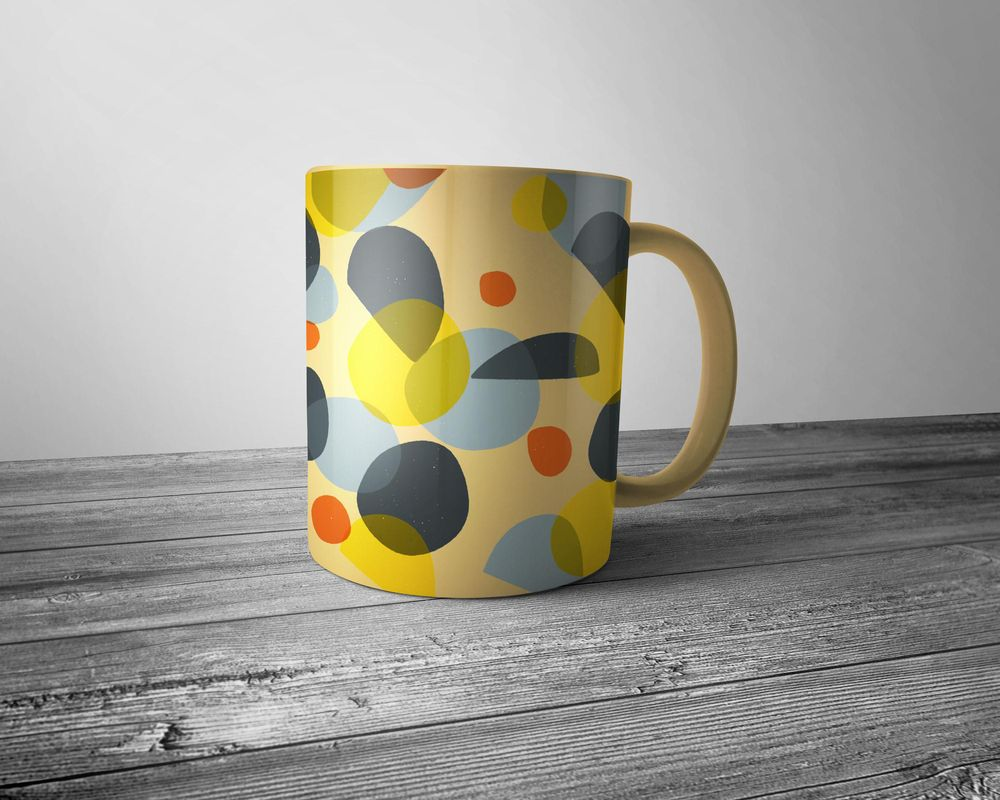 Colourful circles and abstract shapes - image 15 - student project