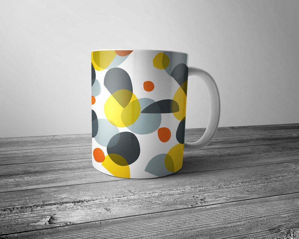 Colourful circles and abstract shapes - image 14 - student project