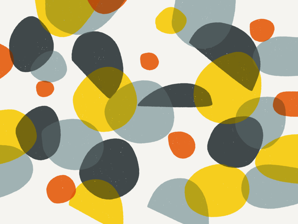 Colourful circles and abstract shapes - image 13 - student project