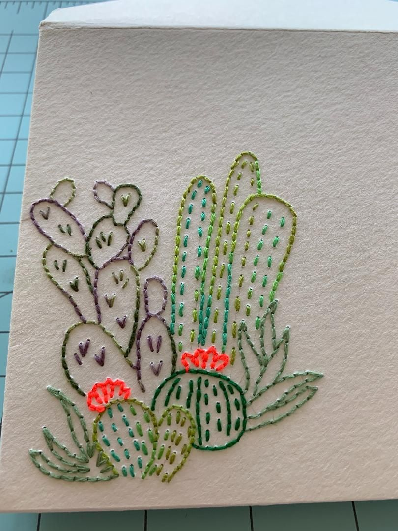 Paper Embroidery - image 3 - student project