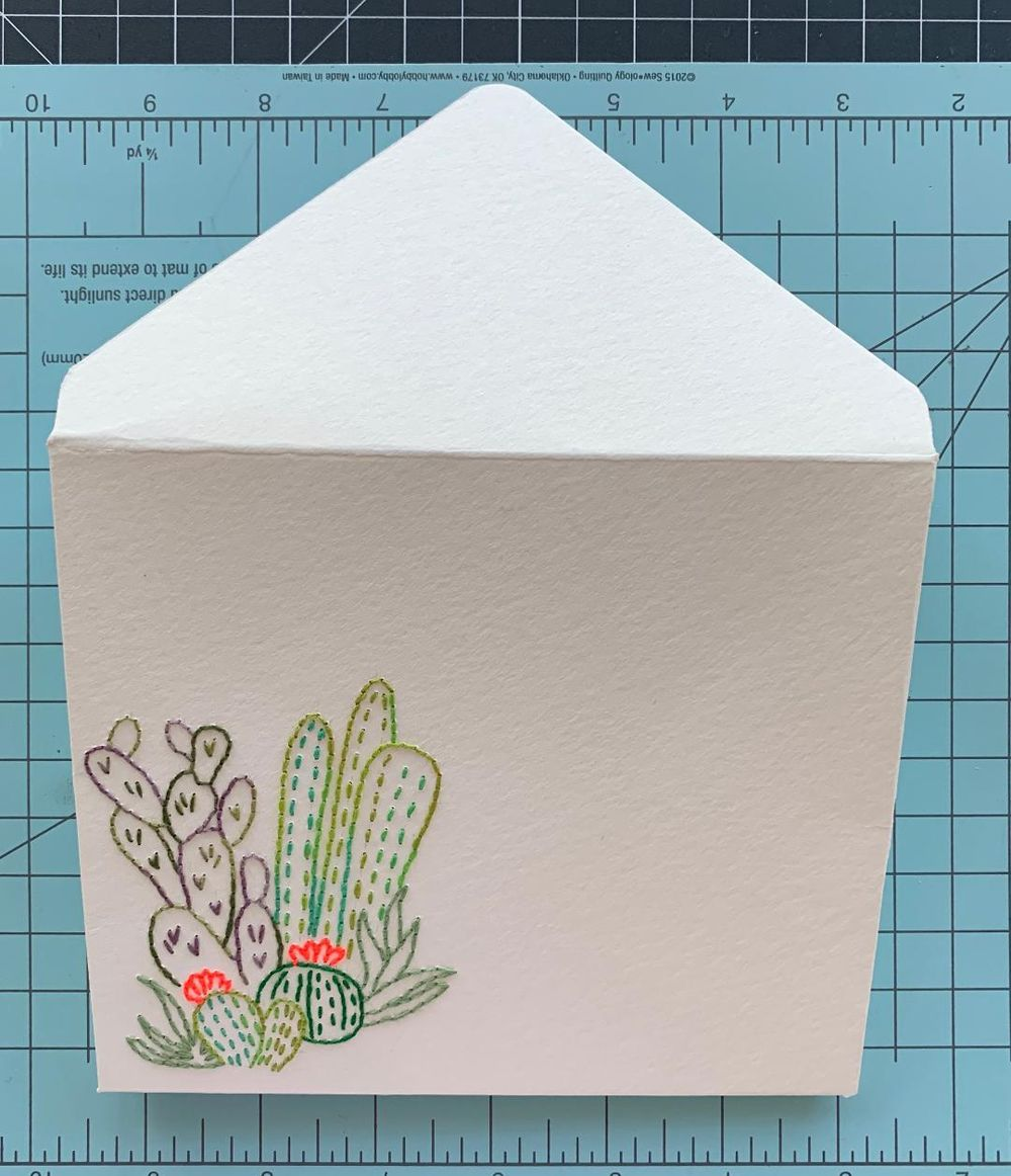 Paper Embroidery - image 2 - student project