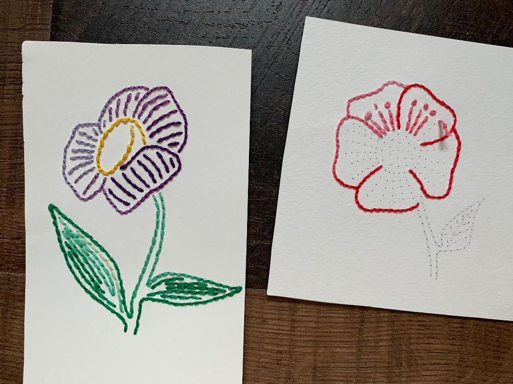 Paper Embroidery - image 1 - student project
