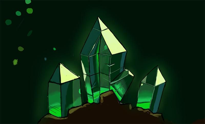 Crystal Sketching (WIP) - image 3 - student project