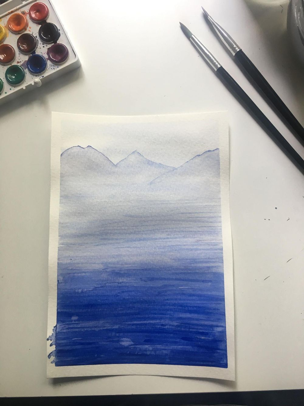 Watercolor seascapes - image 4 - student project