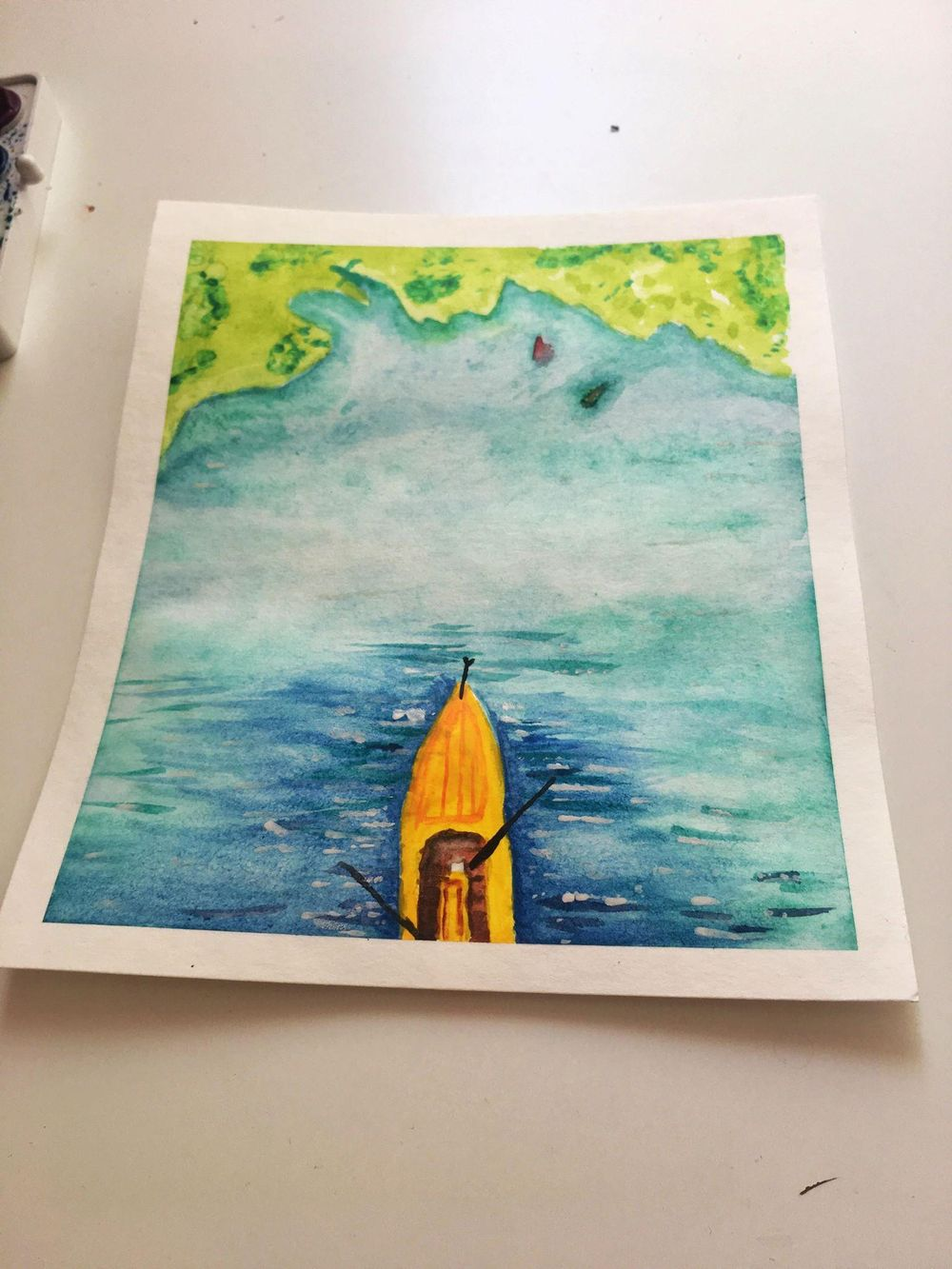 Watercolor seascapes - image 3 - student project