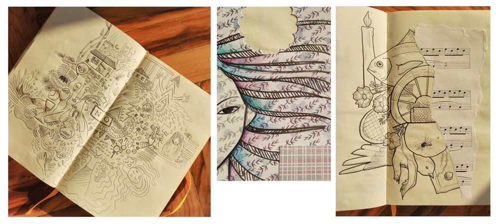 fedecattadraws before and after - image 2 - student project