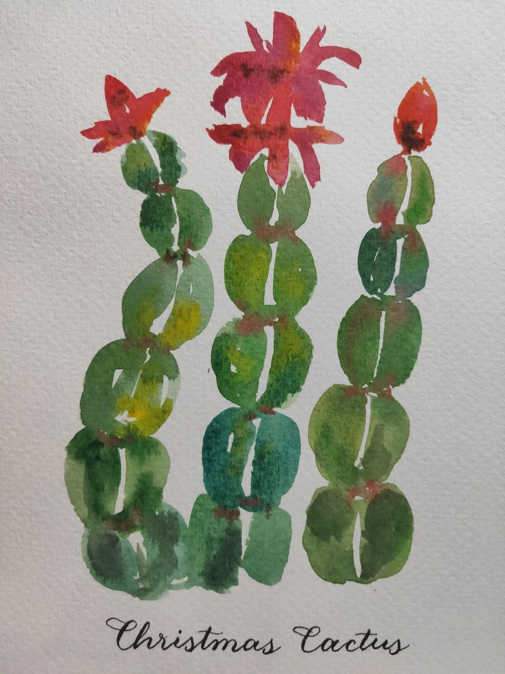 Loose Winter/Christmas Florals - image 1 - student project