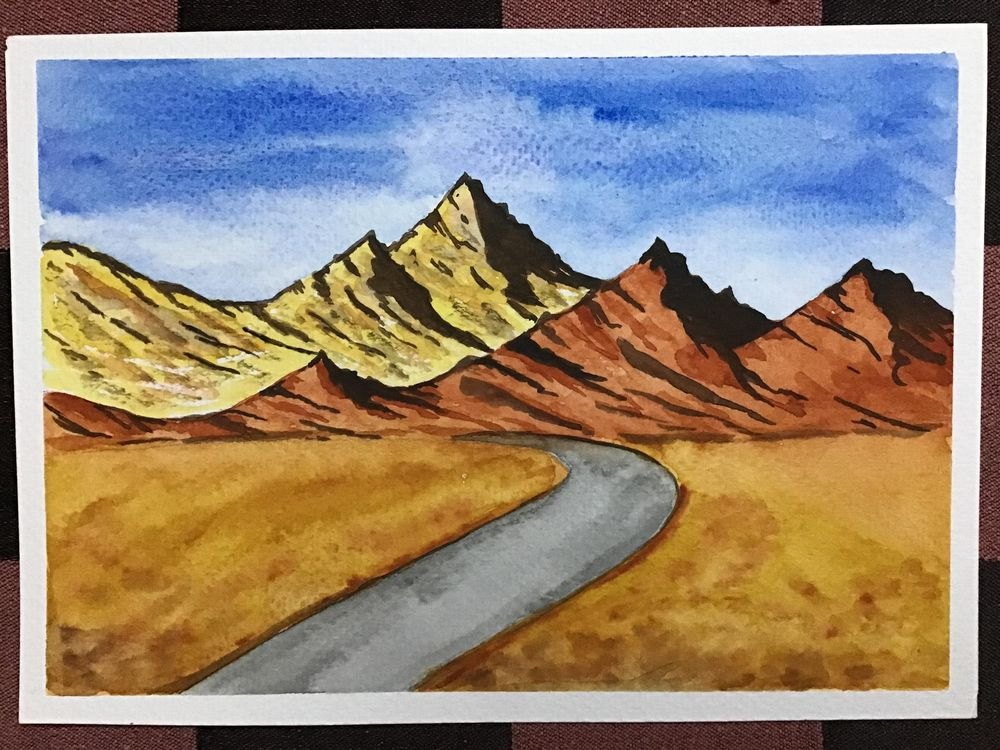 Amazing start to watercolour landscapes! - image 10 - student project