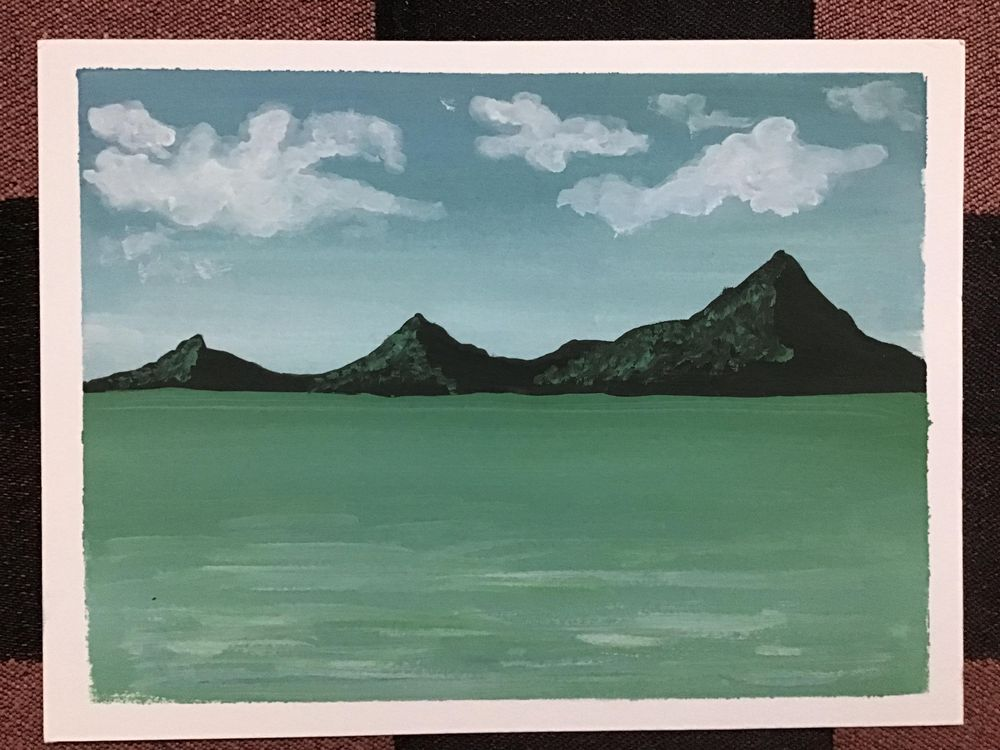 Gouache beaches! - image 2 - student project