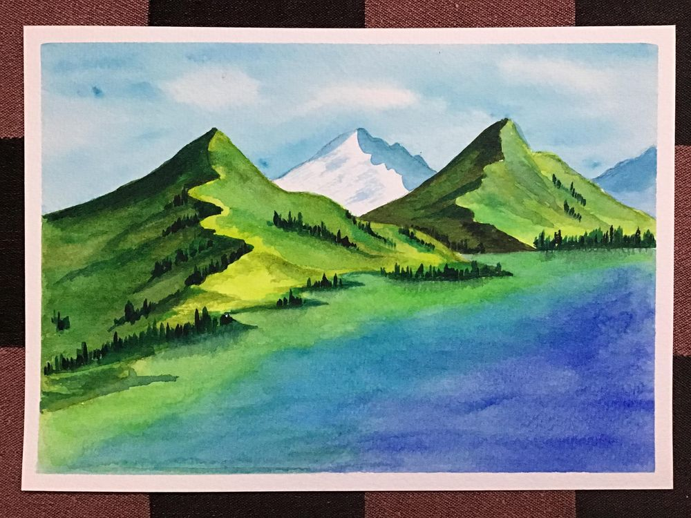 Amazing start to watercolour landscapes! - image 9 - student project
